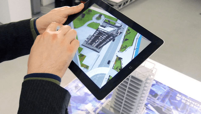 Immersive Real Estate Marketing with AR