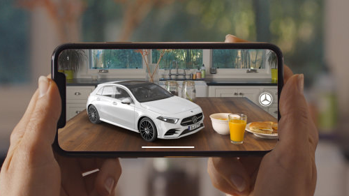 Live AR (Augmented Reality) View